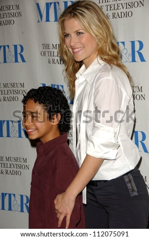 "Ali Larter and Noah Gray-Cabey at the 24th Annual William S. Paley Television Festival Featuring ""Heroes"" presented by the Museum of Television and Radio. DGA, Beverly Hills, CA. 03-10-07"