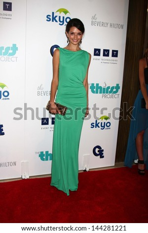 Alice Greczyn at the 4th Annual Thirst Gala, Beverly Hilton Hotel, Beverly Hills, CA 06-25-13 - stock photo