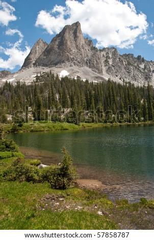 Alice Lake, Idaho - stock photo