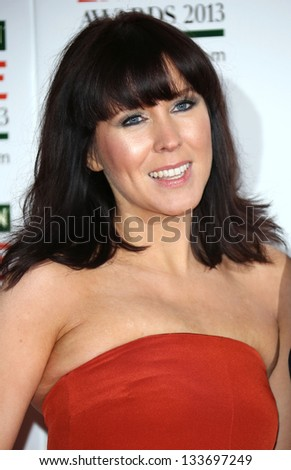 Alice Lowe arrives for the Empire Film Awards 2013 at the Grosvenor House Hotel, London. 24/03/2013 Picture by: Henry Harris