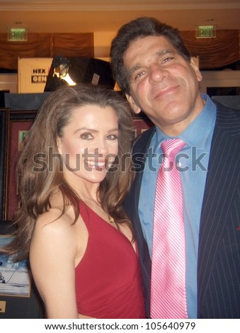 Alicia Arden and Lou Ferrigno at the 19th Annual Night Of 100 Stars Gala. Beverly Hills Hotel, Beverly Hills, CA. 02-22-09