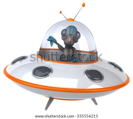 Alien - stock photo