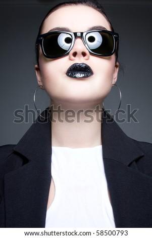 Alien fashion - stock photo