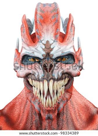 alien monster photo id - stock photo