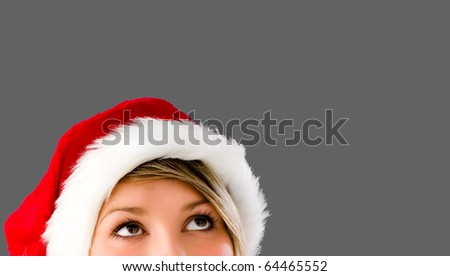 All I want for Christmas... - stock photo