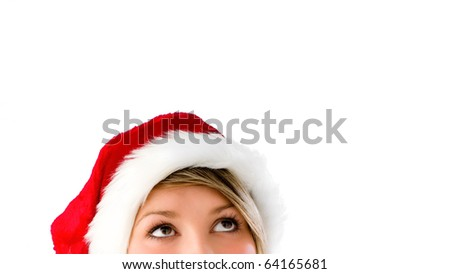 All I want for Christmas is... - stock photo