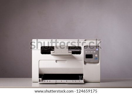 All-in-one printer, scanner, copier - stock photo
