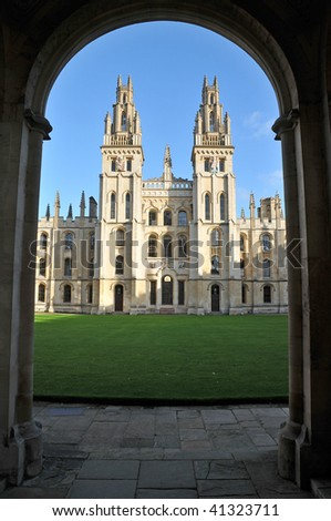 All Souls' College, Oxford, UK
