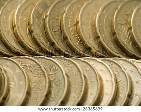 All that glisters is not gold - stock photo
