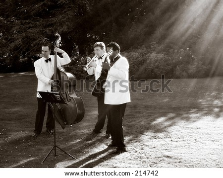 all that jazz - stock photo