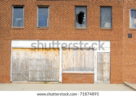 Alley Street Scene - stock photo
