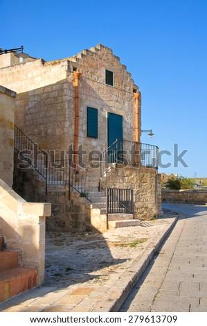 Alleyway. Sassi of Matera. Basilicata. Italy.  - stock photo