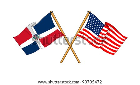 Alliance and friendship between Dominican Republic and USA