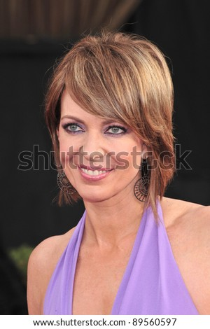 Allison Janney at the 14th Annual Screen Actors Guild Awards at the Shrine Auditorium, Los Angeles, CA. January 27, 2008  Los Angeles, CA. Picture: Paul Smith / Featureflash