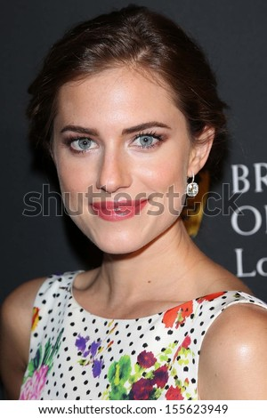 Allison Williams at the BAFTA Los Angeles TV Tea 2013, SLS Hotel, Beverly Hills, CA 09-21-13 - stock photo