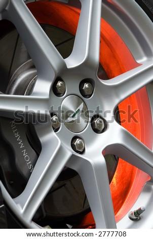Alloy Wheel - stock photo