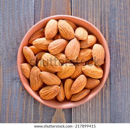 almond - stock photo