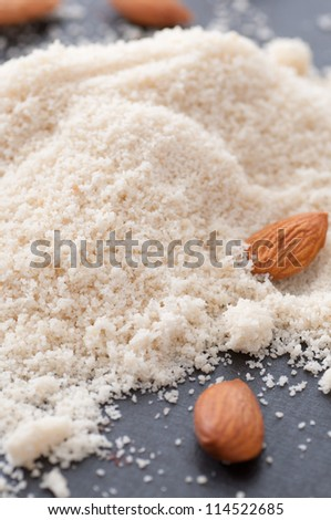 Almond Flour - stock photo