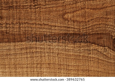 Almond wood textures with dark brown strip - stock photo