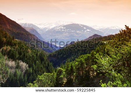 alpen mountain