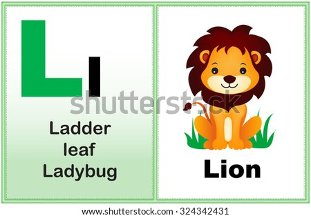 Alphabet Letter L With Clip Art And Few Similar Words Starting The Printable