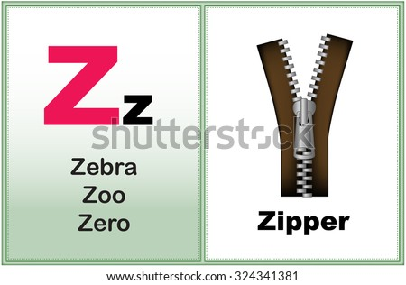 Alphabet Letter Z Clipart Few Similar Stock Vector 232409482 ...