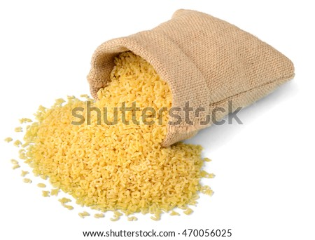 alphabet pasta in sack