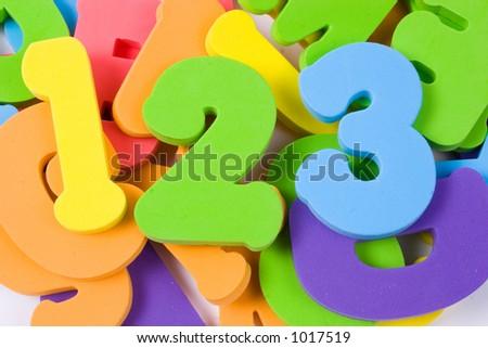 alphabet pile - stock photo