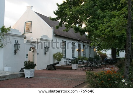 Alphen, South Africa - stock photo