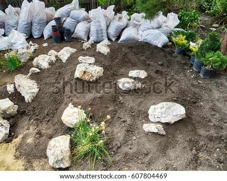 Personable Garden Rockery Stock Images Royaltyfree Images  Vectors  With Foxy Alpine Garden Mountain Of Limestone Boulders Ready For Planting In The  Summer Garden With Beauteous Madison Square Garden Tour Review Also Car Dealers Welwyn Garden City In Addition Terracotta Garden Edging Tiles And Edwardian Garden As Well As Suda Restaurant Covent Garden Additionally John Lewis Welwyn Garden City Phone Number From Shutterstockcom With   Foxy Garden Rockery Stock Images Royaltyfree Images  Vectors  With Beauteous Alpine Garden Mountain Of Limestone Boulders Ready For Planting In The  Summer Garden And Personable Madison Square Garden Tour Review Also Car Dealers Welwyn Garden City In Addition Terracotta Garden Edging Tiles From Shutterstockcom