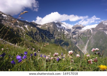 Alps in Austria - stock photo