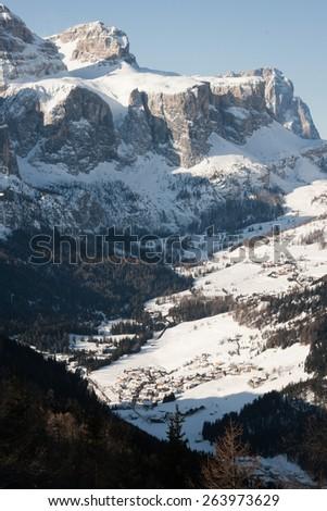 Alps in Italy - stock photo