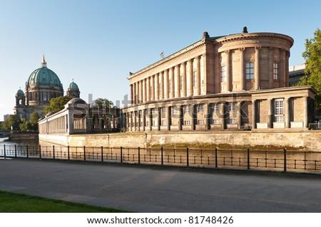 Alte Nationalgalerie in Berlin - stock photo