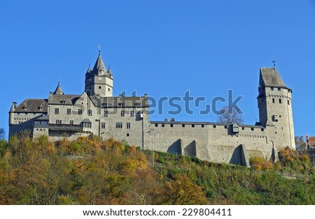 altena Castle - stock photo