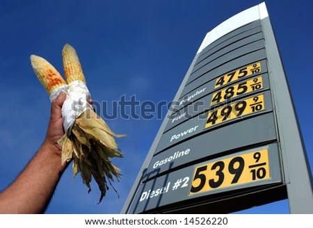 Alternative biofuel - stock photo
