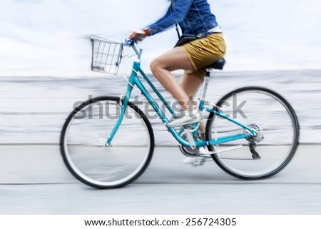 alternative ecological clean transport - stock photo