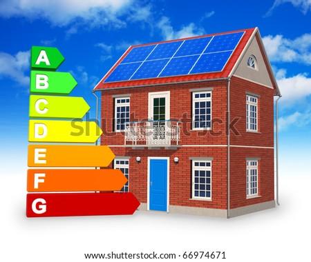 Alternative energy concept - stock photo