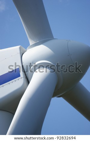 alternative energy, wind - stock photo