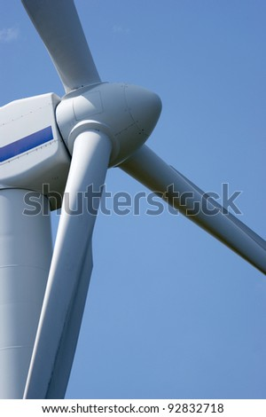 alternative energy, wind - stock photo