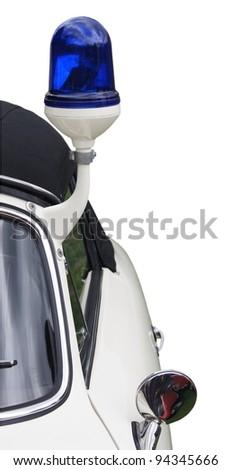 altes Polizeifahrzeug - stock photo