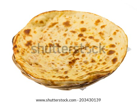 Alu Naan - traditional indian bread