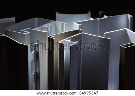 Aluminium - stock photo