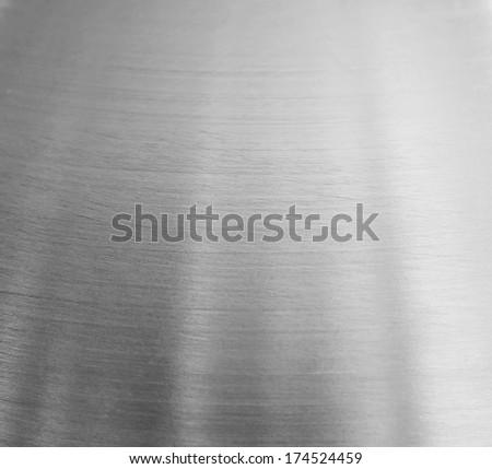 aluminium background. - stock photo