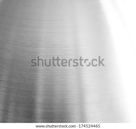 aluminium background. - stock photo