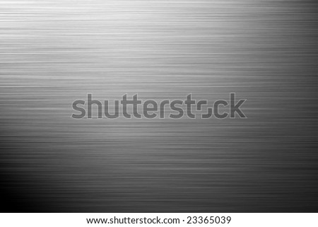 aluminium silver background - landscape orientation - stock photo