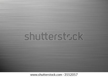 aluminium silver background - square format - stock photo