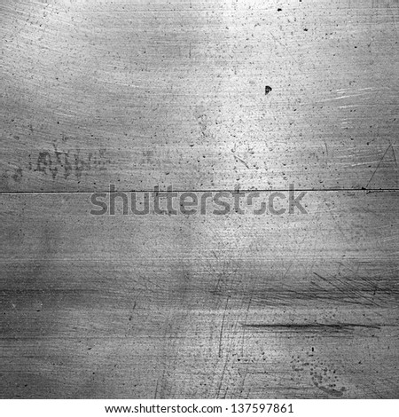 Aluminum background or texture - stock photo