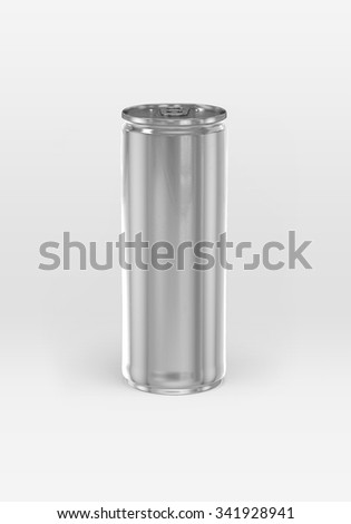 Aluminum Can isolated