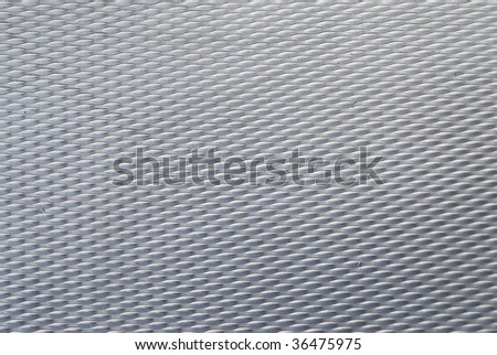 Aluminum Floor background - stock photo