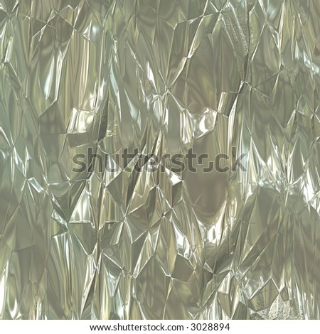 aluminum foil - stock photo